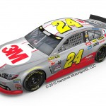 See Jeff Gordon's 2015 'Final Season' NASCAR #24 3M Cup Car in the Canadian Motor Speedway display
