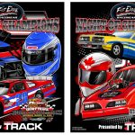Fast Eddie Short Track and Drag Racing Night of Champions Wall Slides